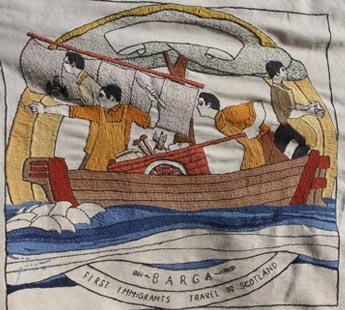 The Scottish Diaspora Tapestry 2012-2014