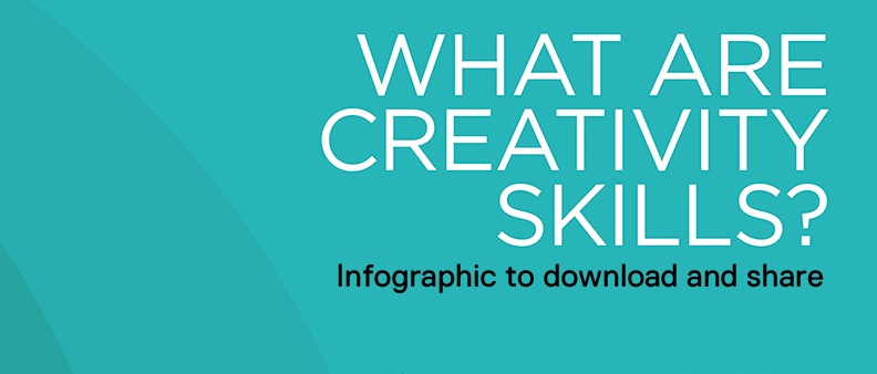 What are creativity skills? - Infographic
