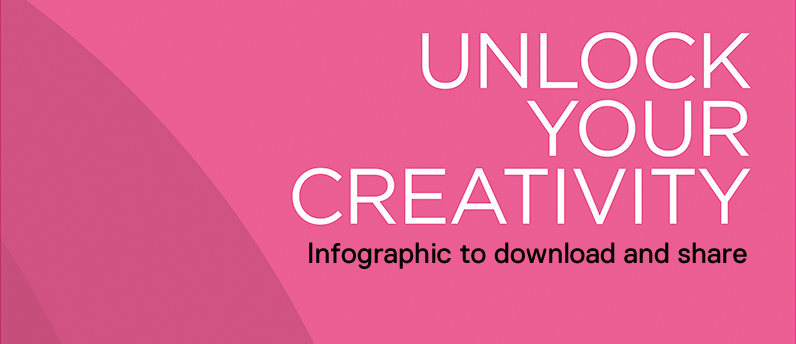 Unlock your creativity - Infographic