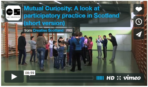 Mutual Curiosity: A look at participatory practice in Scotland
