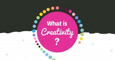 What is Creativity? poster for young learners