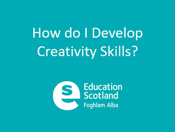 Creativity Across Learning Presentation - as delivered at the NCLN Development Day November 2019