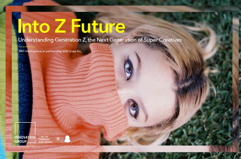 Into Z Future - Meet Generation Z, the next generation of super creatives