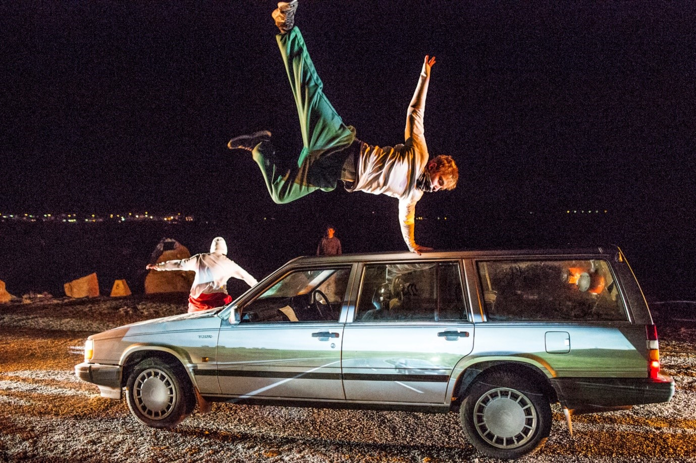 Jump - parkour and physical theatre